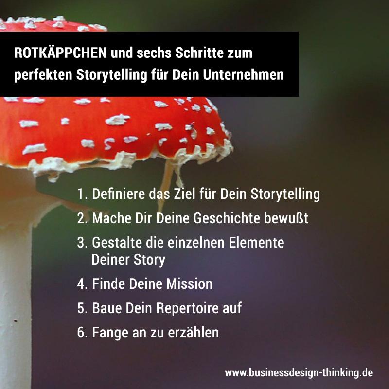 Storytelling für Unternehmen in sechs Schritten