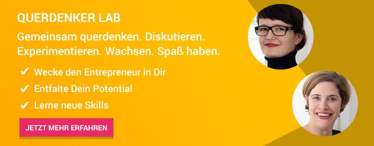 Querdenker Lab für Entrepreneure