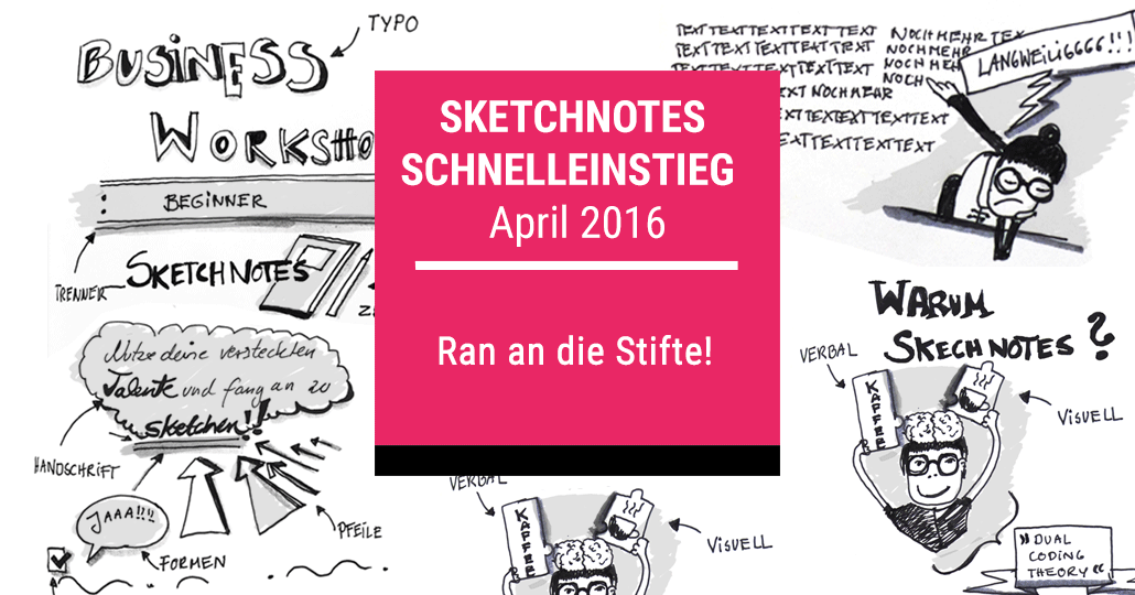 Sketchnotes Workshop, Sketching