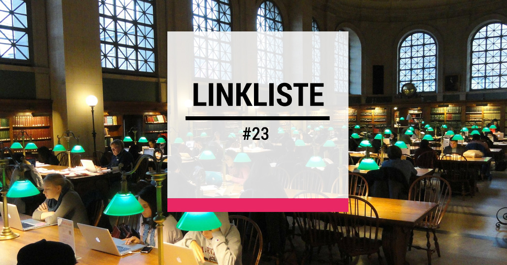 Design Thinking - Linkliste #23