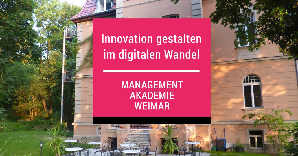 Design Thinking Workshop an der Managementakademie Weimar